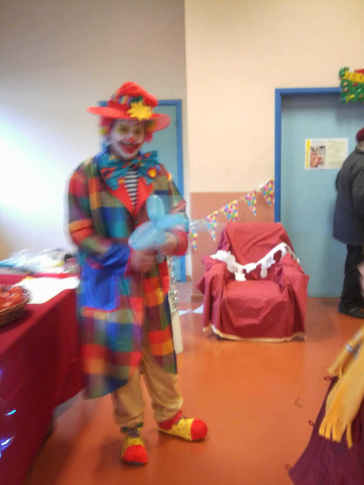 Dyno le Clown Marché de Nöel Labastide rourairoux Tarn