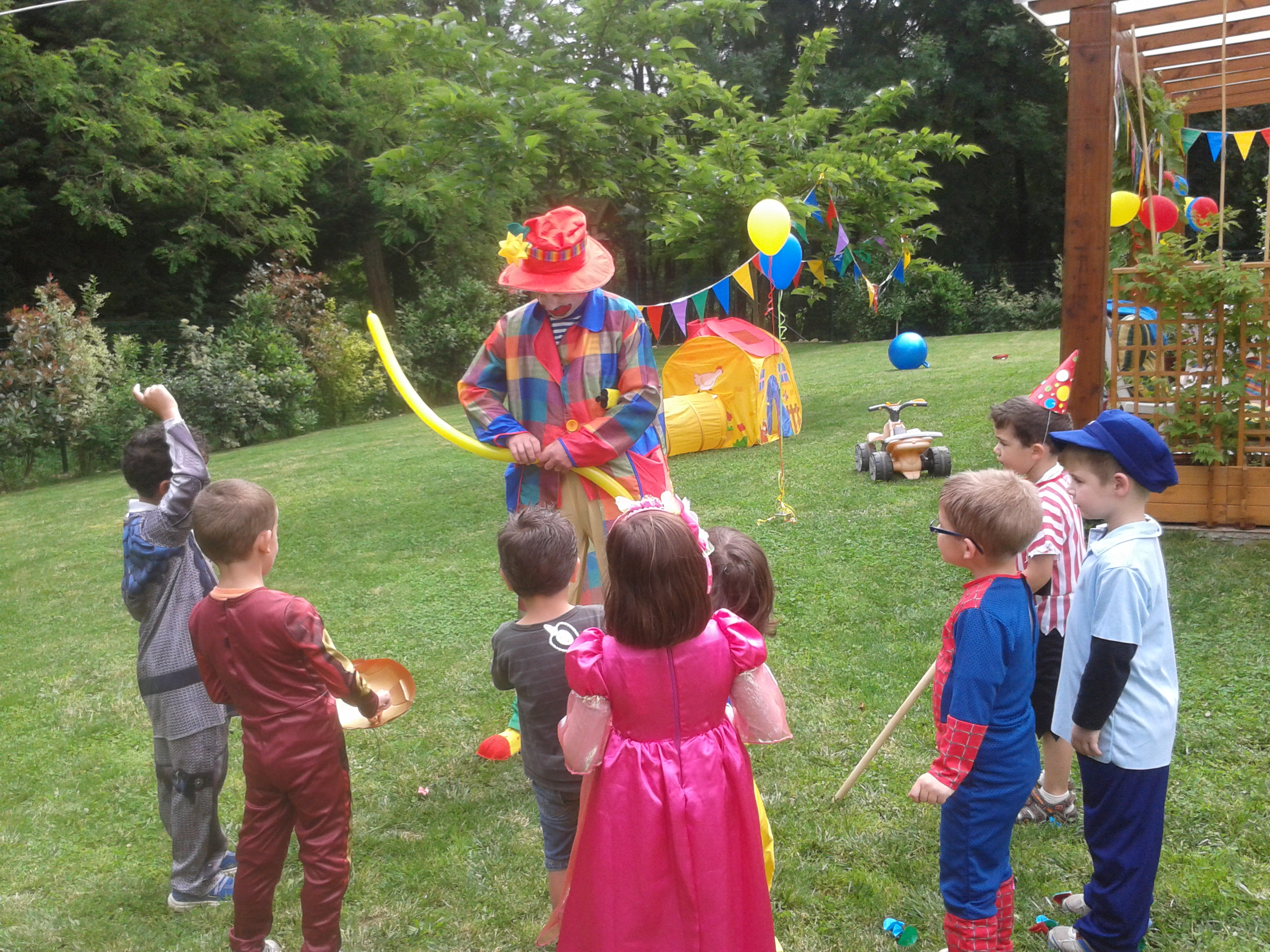 Anniversaire Clown surprise Mazamet 81200