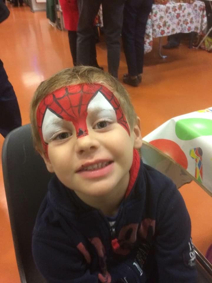 Maquillage Spiderman Labastide Rourairoux Tarn