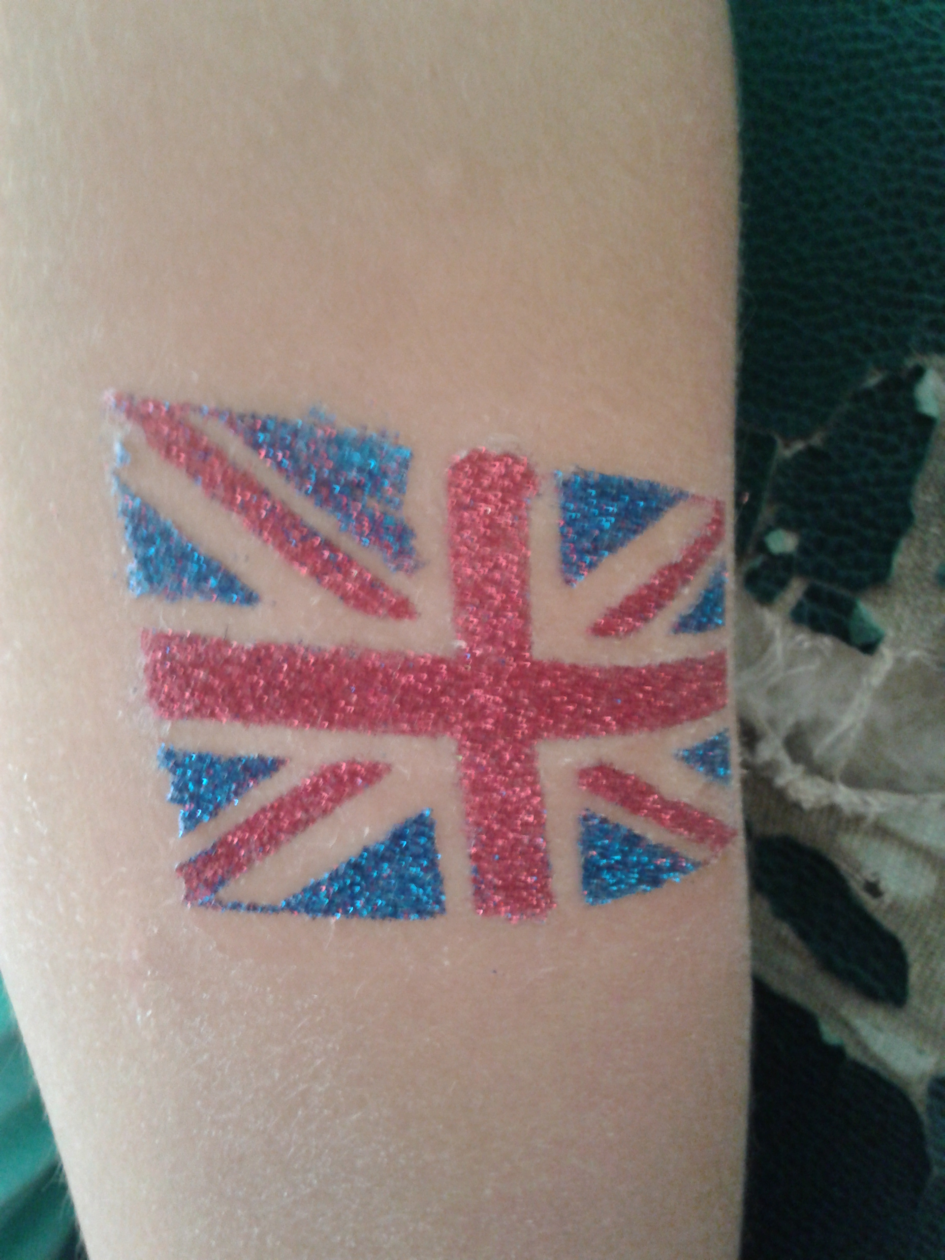 Tatouage Union Jack